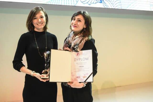Dyplom oraz statuetka Mistrzowie Urody 2018